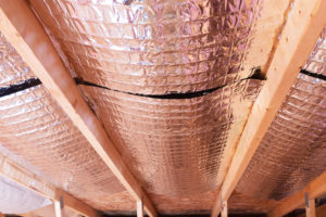 Radiant barrier insulation reduces energy costs